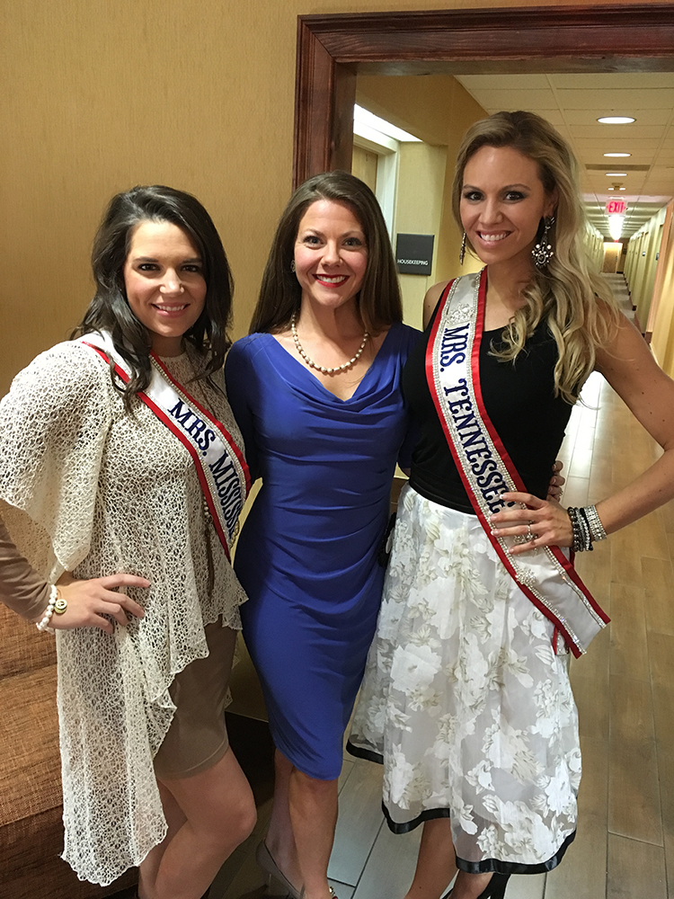 Mrs. Mississippi America Beauty Pageant 2016 - Chelsey Crum, Jaimee Dorris, and Cheryl Brehm